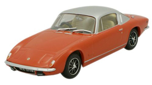 Oxford Diecast Lotus Elan Plus 2 Red_Silver - 1:43 Scale
