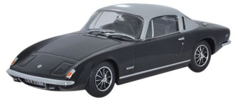 Oxford Diecast Lotus Elan + 2 Black_Silver - 1:43 Scale