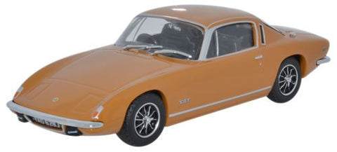 Oxford Diecast Lotus Elan + 2 Bahama Yellow - 1:43 Scale