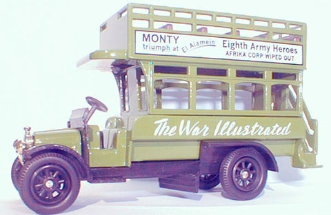 Oxford Diecast War Illustrated