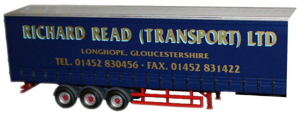 Oxford Diecast Richard Read Trailer - 1:76 Scale