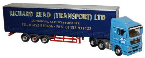 Oxford Diecast Richard Read MAN TGX - 1:76 Scale
