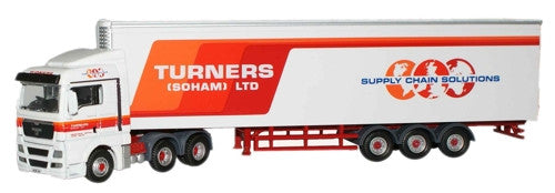 Oxford Diecast Turners of Soham MAN TGX - 1:76 Scale