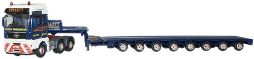 Oxford Diecast Collett MAN TGX Low Loader - 1:76 Scale