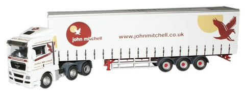 Oxford Diecast John Mitchell MAN TGX - 1:76 Scale