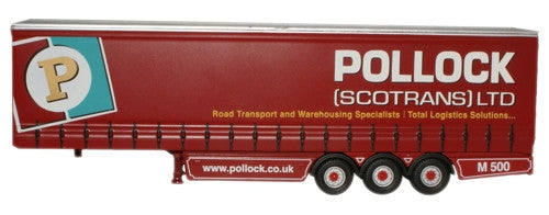 Oxford Diecast Pollock Trailer - 1:76 Scale