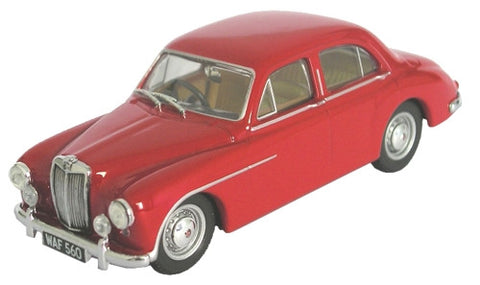 Oxford Diecast MGZA Magnette Red - 1:43 Scale