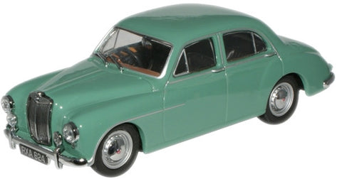 Oxford Diecast Island Green MGZA - 1:43 Scale