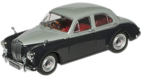 Oxford Diecast MGZB Birch Grey/Twilight Grey - 1:43 Scale