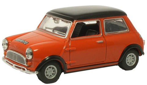 Oxford Diecast Red/Black Roof - 1:43 Scale