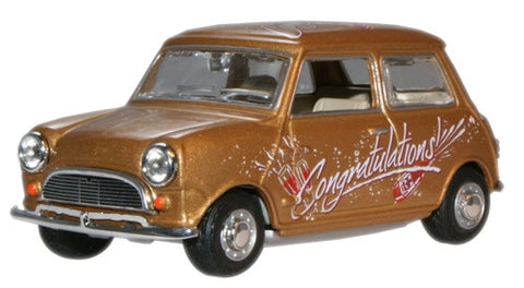 Oxford Diecast Congratulations Mini Car - 1:43 Scale