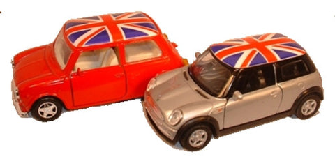 LCD Twin Mini British Flag - OxfordDiecast