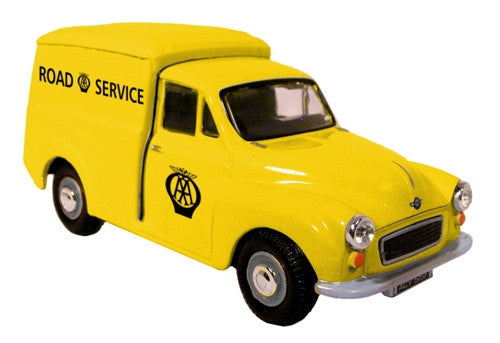 Oxford Diecast Morris Minor AA - old logo - 1:43 Scale