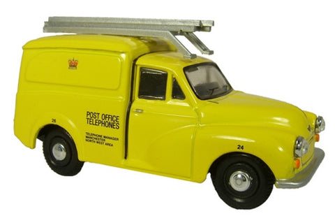 Oxford Diecast Post Office Telephones Yellow Morris 1000 Van - 1:148 S