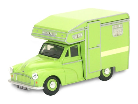 Oxford Diecast Camper Green - 1:43 Scale