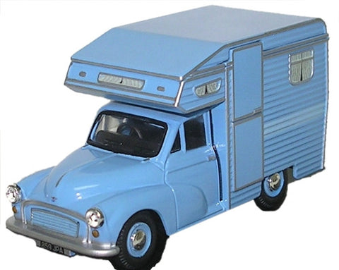 Oxford Diecast Camper Blue - 1:43 Scale