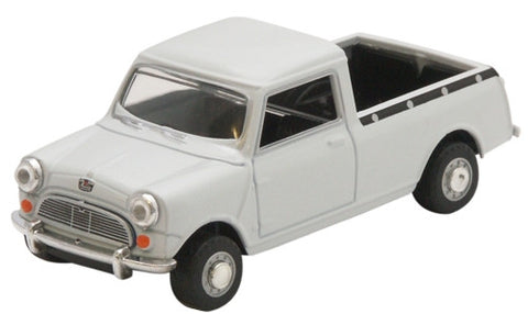 Oxford Diecast Mini Pick Up - Grey - 1:43 Scale