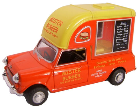 Oxford Diecast Mister Burger - 1:43 Scale
