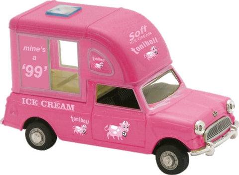 Oxford Diecast Tonibell Mini Pink - 1:43 Scale