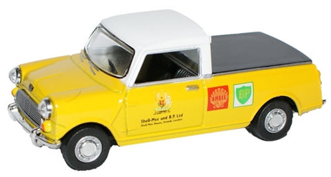 Oxford Diecast Shell-Mex & BP Ltd Mini Pick Up - 1:43 Scale