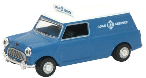 Oxford Diecast RAC Mini Van - 1:43 Scale