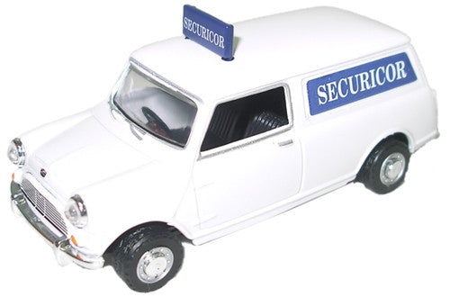 Oxford Diecast Securicor Mini Van - 1:43 Scale