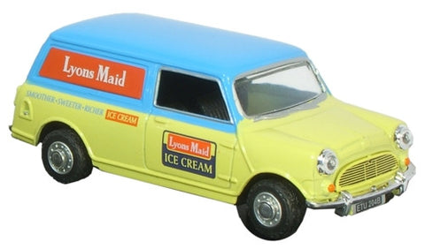 Oxford Diecast Lyons Maid Mini Van - 1:43 Scale