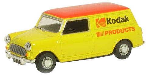 Oxford Diecast Kodak Mini Van - 1:43 Scale
