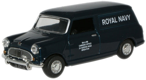 Oxford Diecast Royal Navy Mini Van - 1:43 Scale