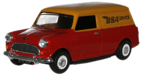Oxford Diecast BSA Mini Van - 1:43 Scale
