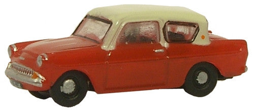 Oxford Diecast Maroon/Cream Anglia - 1:148 Scale