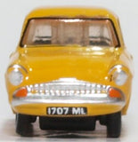 Oxford Diecast Ford Anglia Yellow (Vyvian)