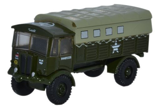 Oxford Diecast AEC Matador Royal Artillery France - 1:148 Scale