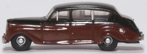 Oxford Diecast Austin Princess (late) Black/royal Claret