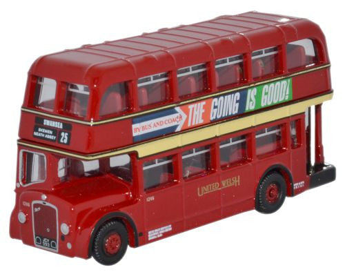 Oxford Diecast United Welsh Bristol Lodekka LD - 1:148 Scale