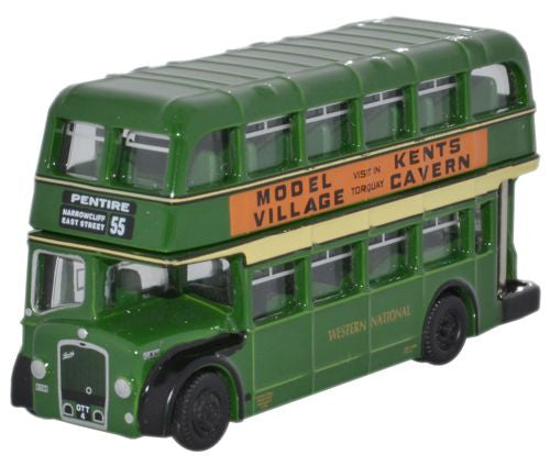 Oxford Diecast Western National Bristol Lodekka LD - 1:148 Scale