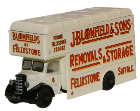 Oxford Diecast Bloomfields Felixstowe Bedford Pantechnicon - 1:148 Sca