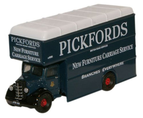 Oxford Diecast Pickfords Bedford Pantechnicon - 1:148 Scale