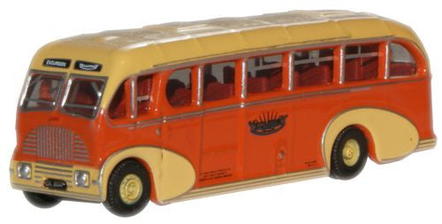 Oxford Diecast Yelloway Burlingham Sunsaloon - 1:148 Scale