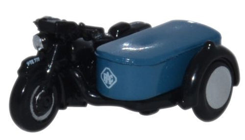 Oxford Diecast Motorbike and Sidecar RAC - 1:148 Scale