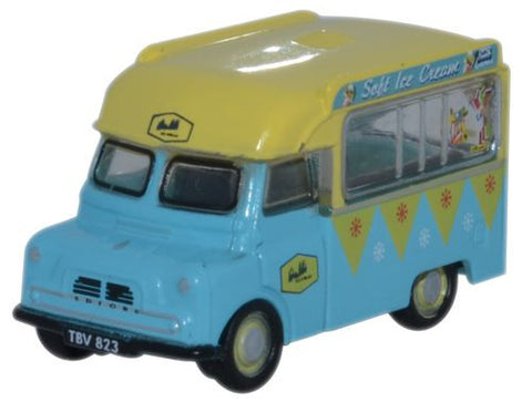 Oxford Diecast Bedford CA Ice Cream Walls - 1:148 Scale