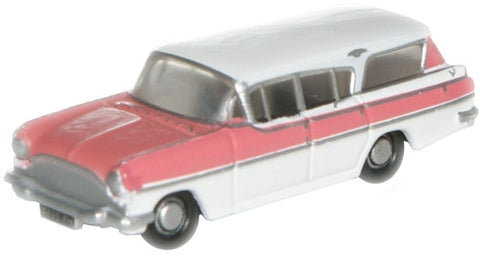 Oxford Diecast Mountain Rose/Swan White Cresta - 1:148 Scale