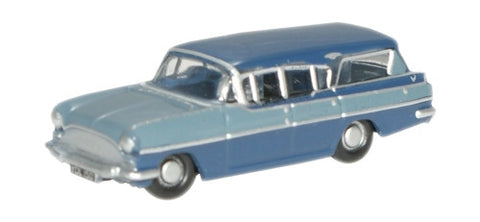 Oxford Diecast Moonlight Blue/Bermuda Blue Cresta - 1:148 Scale