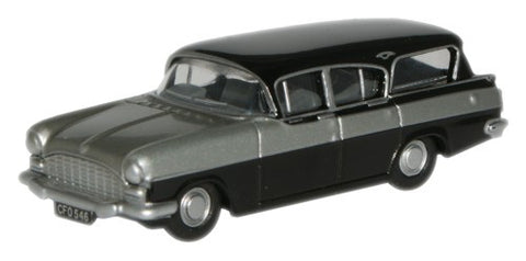 Oxford Diecast Silver Grey_Black Vauxhall Friary Estate - 1:148 Scale