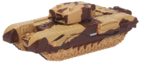 Oxford Diecast Churchill Tank Kingforce