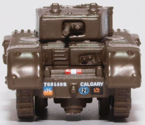 Oxford Diecast Churchill Tank 1st Canadian Army Brg Dieppe 1942