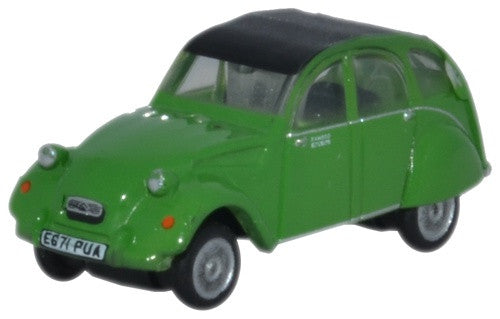 Oxford Diecast Citroen 2CV Bamboo Green - 1:148 Scale