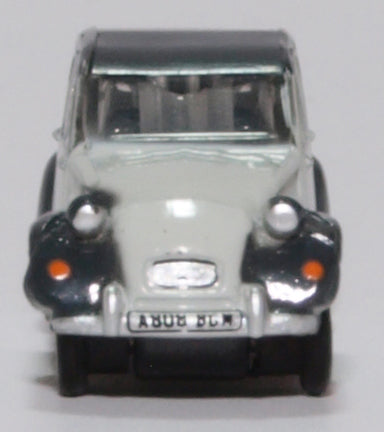 Oxford Diecast Citroen 2CV Charleston Two Tone Grey