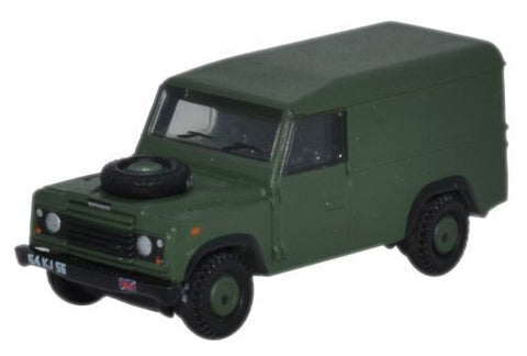 Oxford Diecast Land Rover Defender 110 Hard Top British Army - 1:148 S