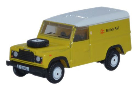 Oxford Diecast Land Rover Defender LWB Hard Top British Rail - 1:148 S